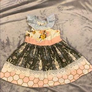 Matilda Jane Platinum toddler dress